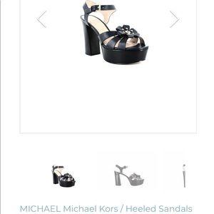 Michael Kors Tara Platform Heel. 61/2. Gently Worn